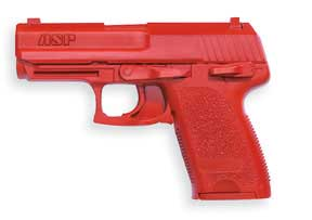 ASP ASP07326 RED TRAINING GUN H&K .45 COMP