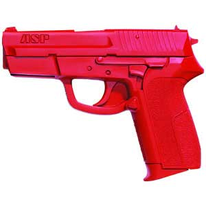 ASP ASP07328 RED TRAINING GUN SIG PRO