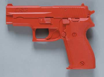 ASP ASP07335 RED TRAINING GUN SIG P225