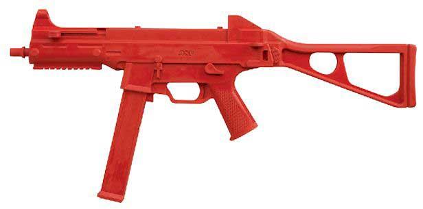 ASP ASP07406 RED TRAINING GUN H&K UMP