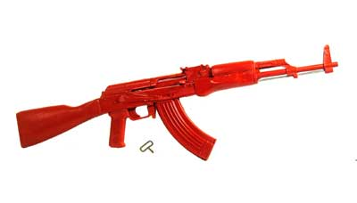 ASP ASP07408 RED TRAINING GUN AK47