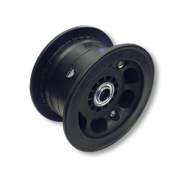 "AZUSA AZ1066 5"" AZUSALITE WHEEL, 4"" WIDE FOR 1-3/8"" OD BALL BEARINGS WITH 5/8"" ID STANDARD BALL BEARING"