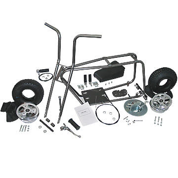"AZUSA AZ3541 MINI BIKE KIT WITH 6"" ALUMINUM WHEELS"