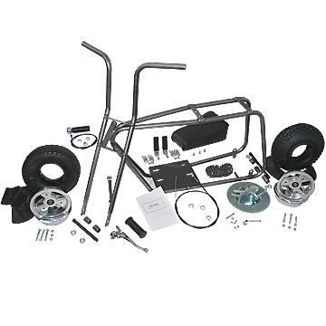 "Azusa AZ3541 Mini Bike Kit With 6"" Aluminum Wheels"