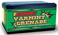 BARNES BULLETS BARNES22430 VG .224 30GR FB 22HORN (PER 100)