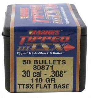 BARNES BULLETS BARNES30871 30 .308 110GR TTSX FB (PER 50)