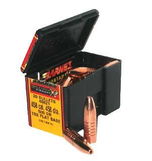 """BARNES BULLETS BARNES45821 458CAL .458"""" 500GR TSX FL BS/20"""