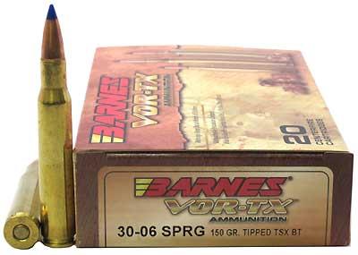 BARNES BULLETS BARNESBB30061 VOR-TX 30-06SPG TTSX-BT 150GR /20