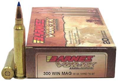 BARNES BULLETS BARNESBB300WM2 VOR-TX 300 WNMG TTSX-BT 165GR /20