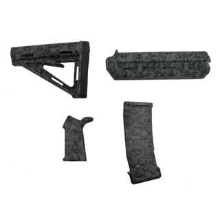 Black Dawn Black Dawn401-RZ Zombie Rifle Furniture Kit - Gray