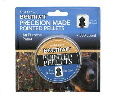 BEEMAN BEEMAN1239 POINTED PELLETS .177CAL 500 CT