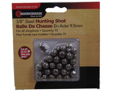 "Beeman Beeman3138 3/8"""" Steel Hunting Shot /75"