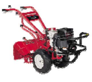 TROY-BILT BIG-RED TOP OF THE LINE REAR TINE TILLER