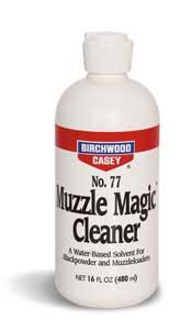 BIRCHWOOD CASEY BIRCHWOOD33745 MUZZLE MAGIC BLK PWDR 16OZ FLIPTP