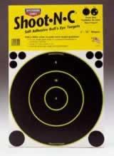 """BIRCHWOOD CASEY BIRCHWOOD34012 SHOOT-N-C BULLS EYE 12"""" ROUND/ 5"""