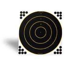 "BIRCHWOOD CASEY BIRCHWOOD34186 SHOOT N C 18"" RND TARGET 12SH PK"