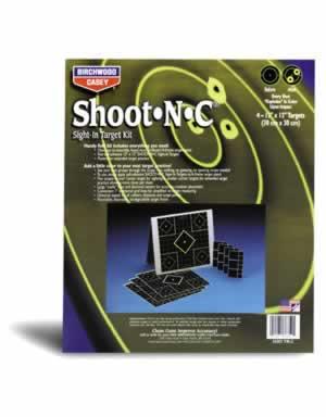 """BIRCHWOOD CASEY BIRCHWOOD34202 TIK-2 SHOOTNC 12"""" TARGET KIT 4 PK"""