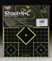 "BIRCHWOOD CASEY BIRCHWOOD34205 SHOOT-N-C 12""X12"" SIGHT-IN 5PK"