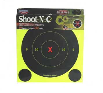 """BIRCHWOOD CASEY BIRCHWOOD34560 B8-60 SHOOTNC 6"""" ROUND XBULL 60PK"""