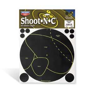 BIRCHWOOD CASEY BIRCHWOOD34682 SHOOT N C DEER TARGET VITALS 5PK