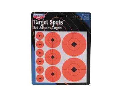 "Birchwood Casey Birchwood Casey33928 1"" 2"" 3"" Target Spots Assortment"