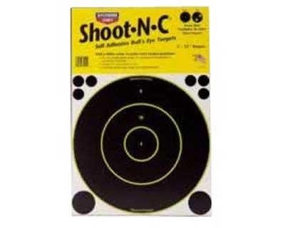 """Birchwood Casey Birchwood Casey34012 Shoot-N-C Bulls Eye 12"""" Round/ 5 sht pk"""