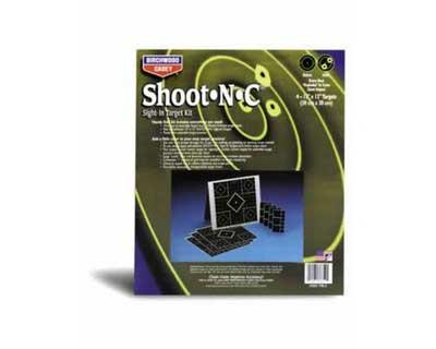 "Birchwood Casey Birchwood Casey34202 ShootNC 12"" Target Kit 4 Pk,TIK-2"