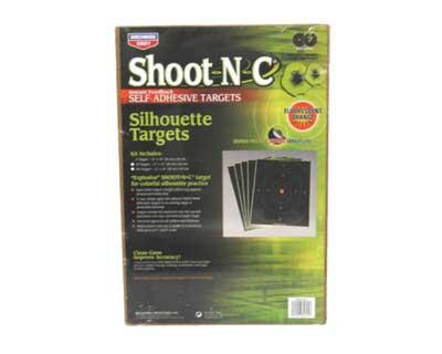 """Birchwood Casey Birchwood Casey34605 SO-5 ShootNC 12""""x18"""" Silh 5 Pk"""