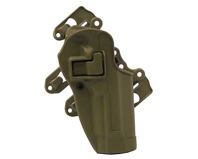 BlackHawk Products Group BlackHawk Products Group40CL01CT-R Serpa STRIKE CQC RH Tan Ber92/96