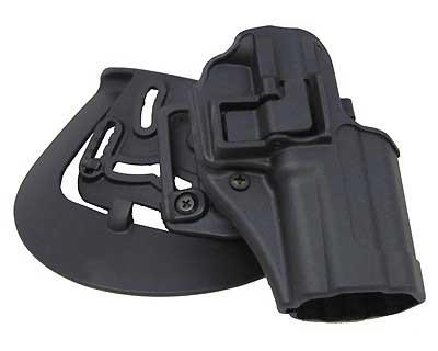 BlackHawk Products Group BlackHawk Products Group410507BK-R Serpa CQC Matte RH Spfd XD Compct