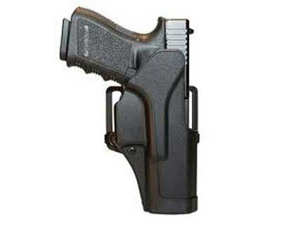 BlackHawk Products Group BlackHawk Products Group415601BK-R Sportster Std BL&Pdl Glock 26/27/33 RH