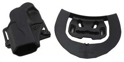 BlackHawk Products Group BlackHawk Products Group415602BK-L Sportster Std BL&Pdl Glock 19/23/32/36 LH