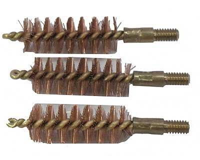 Bore Tech BTBP-44-003 Brass Pst Brush 44/45 Cal (Per 3)