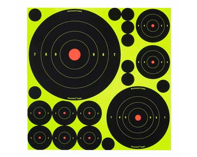 """Birchwood Casey Birchwood Casey34088 ShootNC 1"""" ,2"""" ,3"""" ,6"""" & 8"""" Asst /500"""