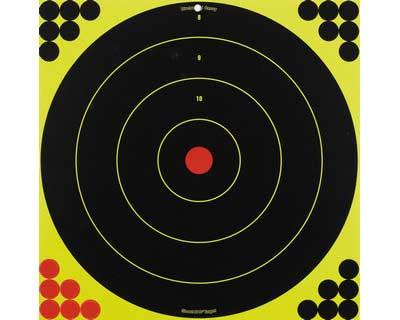 """Birchwood Casey Birchwood Casey34170 ShootNC 17.25"""" Bulls Eye 100 Sheet Pack"""