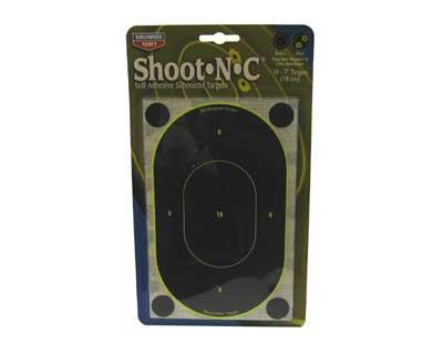 "Birchwood Casey Birchwood Casey34710 B24-12 SNC 7"" Oval Target (Per12)"