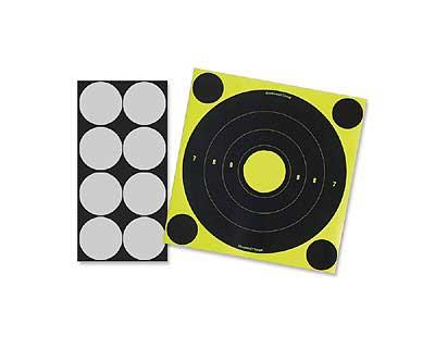 """Birchwood Casey Birchwood Casey34807 LT-6 ShootNC 8"""" Round Laser 6Pack"""