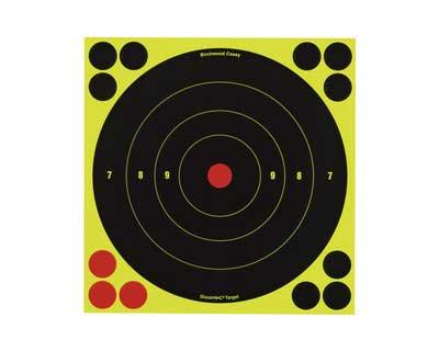 """Birchwood Casey Birchwood Casey34880 ShootNC 8"""" BE Tgt /500"""