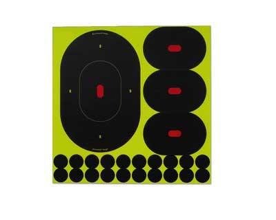 "Birchwood Casey Birchwood Casey34980 ShootNC 9"" & 4"" Slhtt Asst /500"