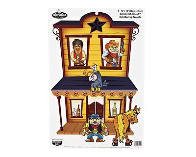 "Birchwood Casey Birchwood Casey35564 Dirty Bird 12""x18"" Saloon Shootou"