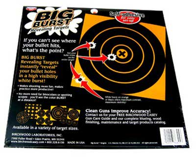 "Birchwood Casey Birchwood Casey36825 BB8-25 Big Burst 8"" & 4"" Targets"