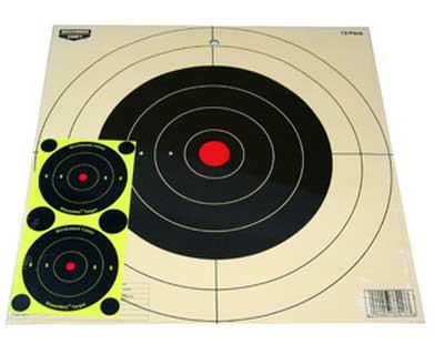 "Birchwood Casey Birchwood Casey37013 ""PP12 Plain Paper Target 12"""" Round"""