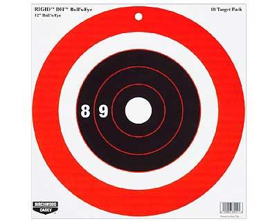 "Birchwood Casey Birchwood Casey37211 ""Rigid 12"""" DH BE Tgt /10"""