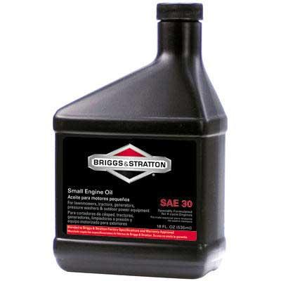 BRIGGS AND STRATTON 100005 LAWN MOWER OIL - 4 CYCLE 30W (18 fl oz)