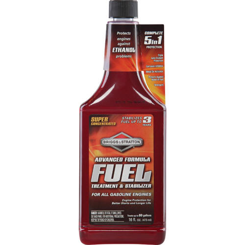 BRIGGS AND STRATTON 100119 ADVANCE FORMULA FUEL TREATMENT, 16 OZ