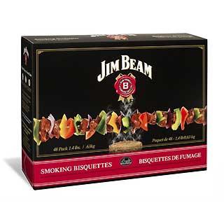 BRADLEY BTJB120 Jim Beam Bourbon Bisquettes 120pk
