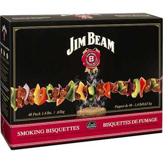 BRADLEY BTJB48 Jim Beam Bisquettes (Per 48)