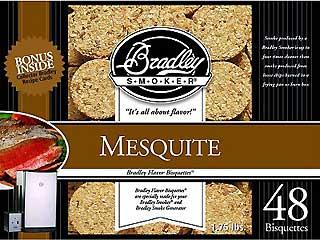 BRADLEY BTMQ48 Mesquite Bisquettes (48 Pack)