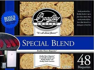 BRADLEY BTSB48 Special Blend Bisquettes (48 Pack)