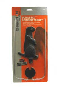 CHAMPION TRAPS AND TARGETS CHAMPIONTRAPS40953 DURA SEAL SPIN SINGLE VMT BLK 7""
